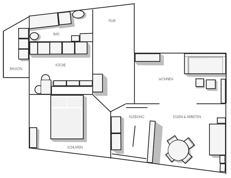 die neue Wohnung - ein Zwischenstand