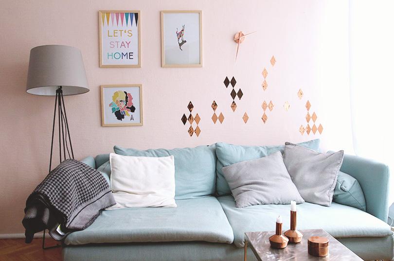 Wandgestaltung 4 tipps bekleidet bloglovin - Eierschale wandfarbe ...