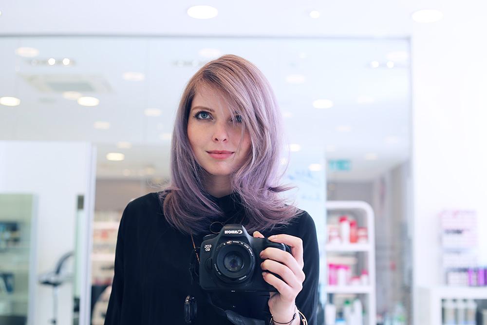 pastel hair with schwarzkopf professionals bekleidet