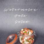 easy recipe: watermelon-feta-salad