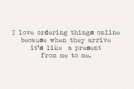 love-ordering-things-online