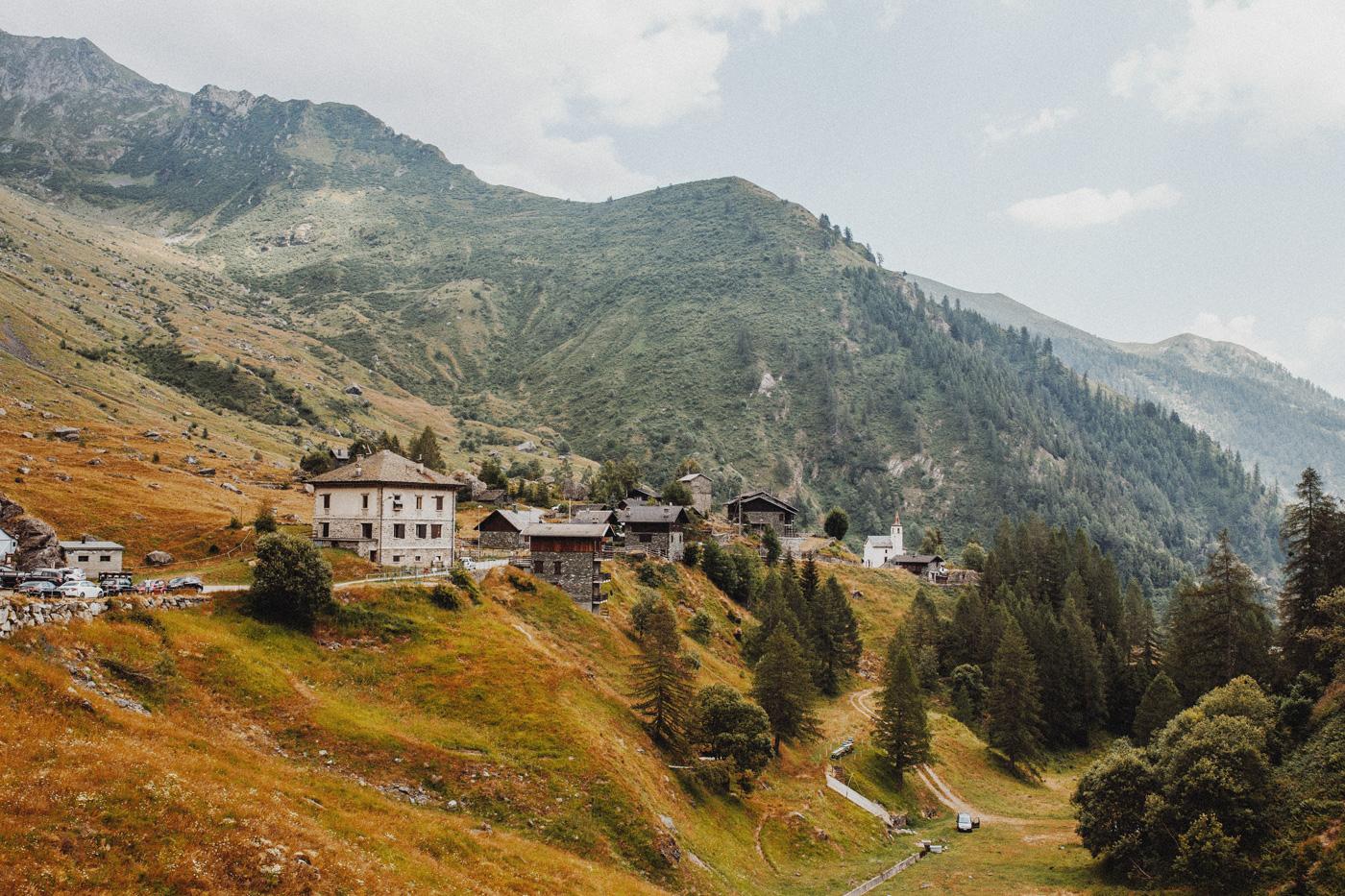 Italien Gebirge